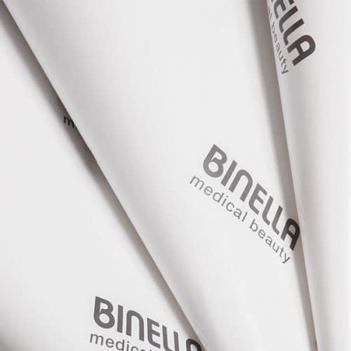 Geschenkpapier individualisiert für Binella von CREATEAM PROMOTION