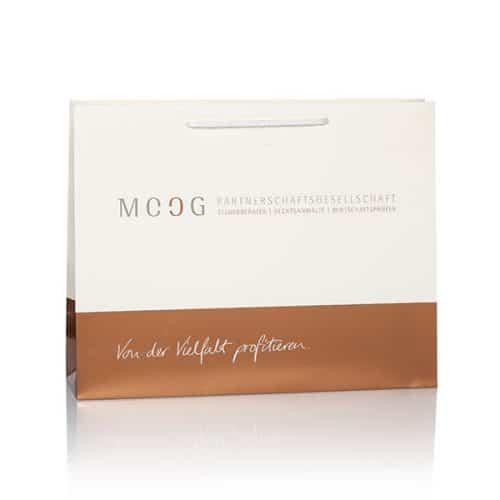 Papiertüte (Papiertasche Deluxe) für Moog von CREATEAM PROMOTION