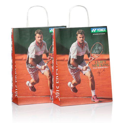 Papiertasche und Papiertüte für YONEX von CREATEAM PROMOTION